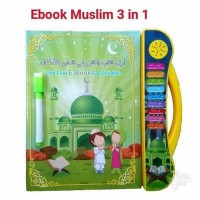 Mainan Edukasi Ebook Muslim 3in1