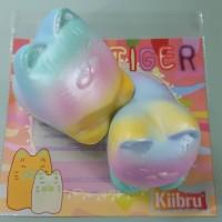 Jual Squishy Rainbow Sweet Tiger Licensed by Kiibru Murah