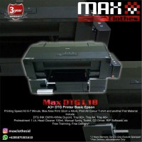 Paket Printer DTG A3+ Epson L1800 Siap Cetak Include Mesin Press dll