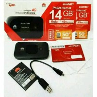 modem wifi/mifi huawei e5577 free telkomsel simpati 14GB unlock 3G 4G