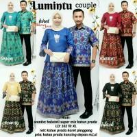 baju couple lumintu batik kebaya unik modern lucu modis
