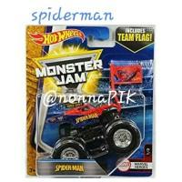 Hot Wheels Monster Jam Team Flag Spiderman / Batman