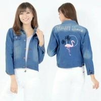 Outwear/ Jaket Jeans/ Levis Wanita Flaminggo Standar Sized MK Store