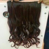 rambut palsu original asli lembut