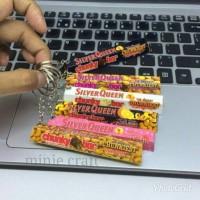gantungan kunci / miniatur / souvernir coklat chungkybar , Toblerone