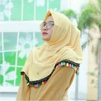 Jual Hijab/ Jilbab/ Kaos Najwa Tasel Murah
