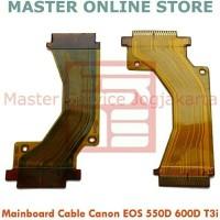 kabel Fleksibel (flexible) mainboard kamera DSLR Canon EOS 550D, 600D,