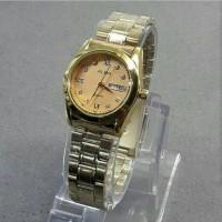 Jam tangan wanita, Alba mini, tgl + hari aktif/on, kw super