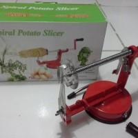 Jual Spiral Potato Slicer atau Alat Pemotong Pengiris Kentang Murah