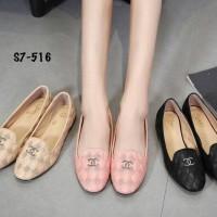 Harga sepatu chanel jamie flatshoes s7 | Pembandingharga.com