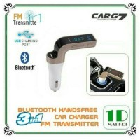 Jual Car charger 3 in 1 CARG7  transmitter radio fm lcd display bluetooth Murah