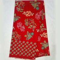 KBS018b Kain Batik Meteran Bawahan Kebaya Modern Doby Premium Bahan