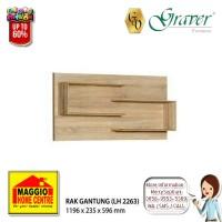 Maggio Lemari Hias/ Rak Gantung / Lemari Pajangan Graver LH 2263