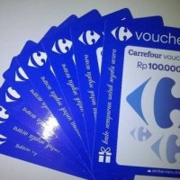 Voucher Carrefour 100.000