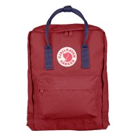 Fjallraven Kanken Classic OxRed Royal Blue backpack tas
