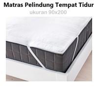 Ikea Pelindung Kasur Matras - Mattress Cover Protector 90 X 200 Cm