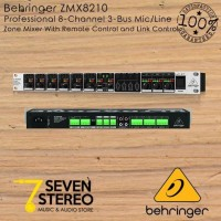 Behringer ZMX8210 Professional 8 Channel 3 Bus Mic Line Zone Mixer