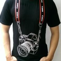 Kaos Baju Distro Murah Foto Photographer fotographer 3D STRAP CANON