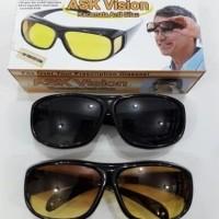 HD vision wrap arounds | kacamata anti silau (isi 2 pcs) Night View
