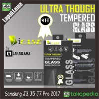 Tempered Glass Bening Samsung Galaxy J3 J5 J7 Pro 2017 Screen Guard