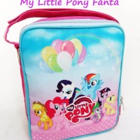 QUEENYSHOP Simple Baby Bag My Little Pony Fanta Tas Perlengkapan Bayi