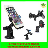 Vivan Robot Card Holder - Stand Handphone RT-CH01