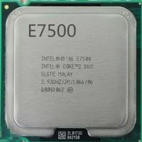 Processor Intel Core 2 Duo E7500 2.93 GHz Tray Tanpa Fa Berkualitas