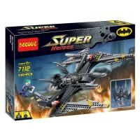 Jual Lego Pesawat Batman Fighter Batwing Tumbler Decool 7112 Murah