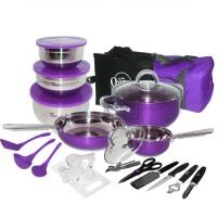 Oxone 33pcs Travel Cookware Set OX-993 - Set Panci + Peralatan Masak