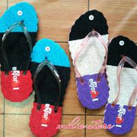 grosir & ecer sandal karpet khas jogja