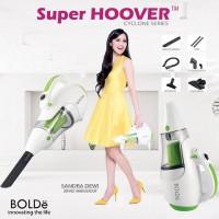 vacuum cleaner vakum kuat BOLDE Super Hoover cyclone iklan sandra dewi