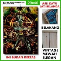 Poster Sepultura 4 SPT04 Kayu Vintage Asli Dinding Rumah/kafe