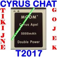 Baterai Batrai Batere Batre Cyrus Chat Cyrus Apel M COM
