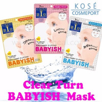 Kose Cosmeport Clear Turn Pure Mask (7 Piece)