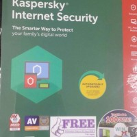 Kaspersky Internet Security 2018 - 3 User (Promo Free 1 User KIS 2018)