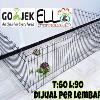 harga Bisa Gojek/kandang Pagar Warna Warni/ Kandang Anjing,kucing(sisa Pink) Tokopedia.com