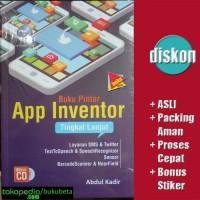 Buku Pintar App Inventor Tingkat Lanjut Bonus CD - Abdul Kadir