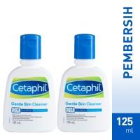 harga [bundle X2] Cetaphil Gentle Skin Cleanser 125ml Tokopedia.com