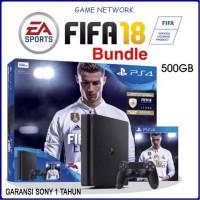Jual PS4 SLIM 500GB FIFA 18 BUNDLE Murah
