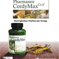 (Dijamin) Cordy Max 120 kapsul - Suplemen Vitalitas dan Stamina Pria
