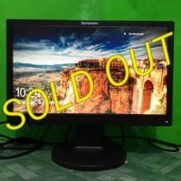LCD Monitor Komputer LENOVO 19inch wide D186wa