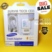 Jual CHARGER SAMSUNG NOTE 4/S7 ORIGINAL 100% ADAPTIVE FAST CHARGING 2 APR Murah