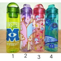 Jual Botol Minum Tritan Water Karakter infused infuser Bottle Fruit Juice Murah