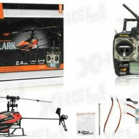 Promo WLtoys V933 2.4GHz 6 Channel Remote Control RC Helicopter RTF