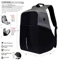 harga Original Ransel Smart Backpack Bodypack Anti Theft Tas Anti Maling Abu Tokopedia.com
