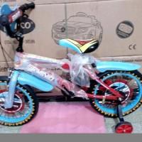 TERMURAH Erminio 2309 Fire BMX 12 Inci Sepeda Anak Laki Laki Usia 4 7