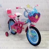 BEST SELLER Golden Caramel CTB Sepeda Anak Perempuan Usia 4 7 Tahun 1