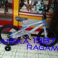 BEST SELLER Sepeda Anak BMX 18 SENATOR biru