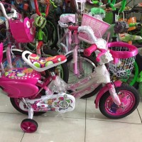DISKON Sepeda anak mini exotic 12 barbie