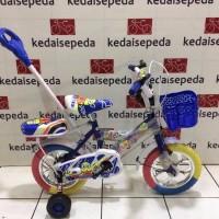 BEST SELLER Sepeda Anak Little bat 12 tongkat stir
